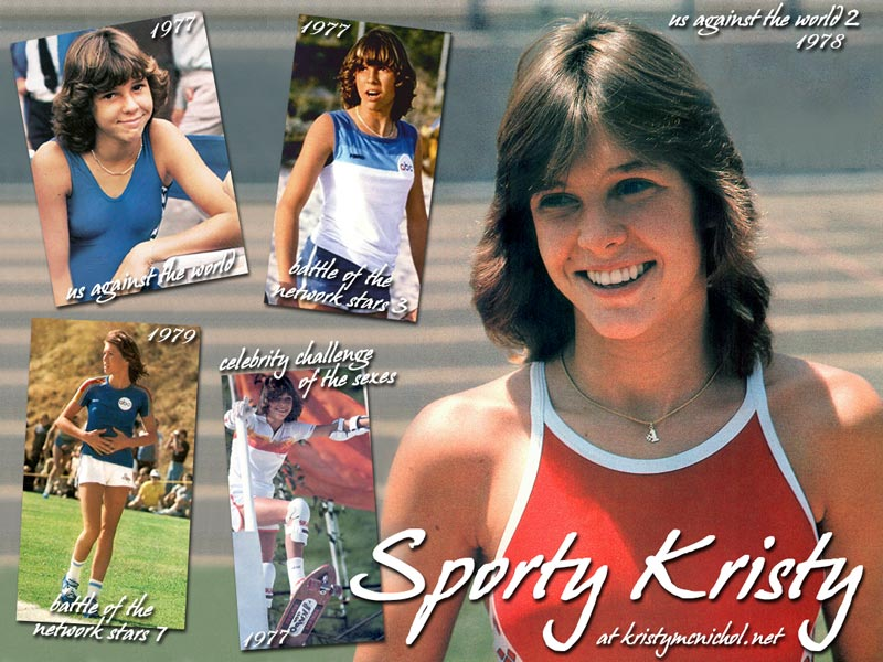 A Little Darling Comes Out. Kristy McNichol ...
