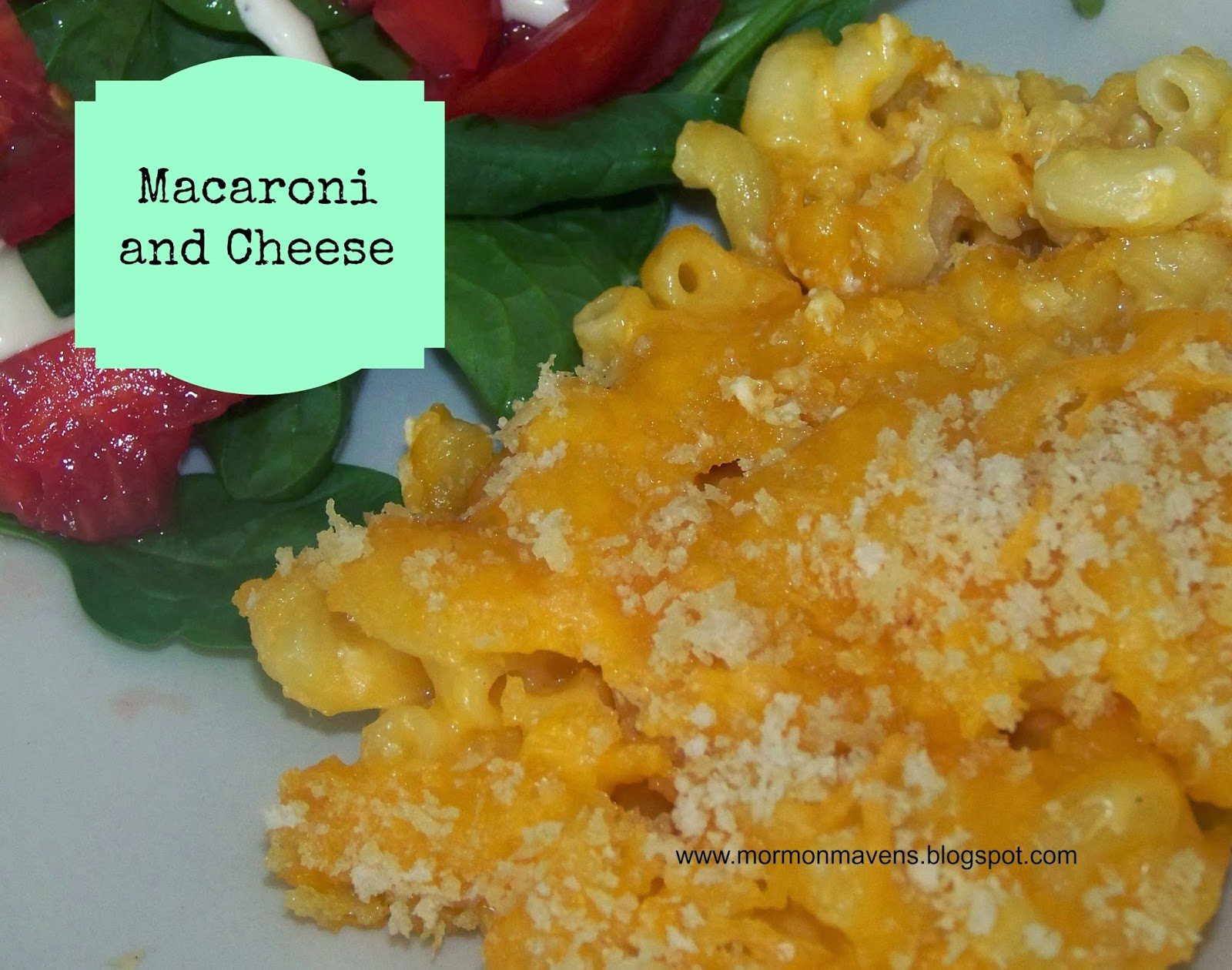 Mormon Mavens in the Kitchen: Baked Macaroni and Cheese