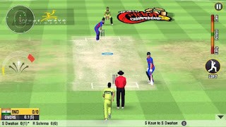 Screenshots of the World cricket championship 2 for Android tablet, phone.