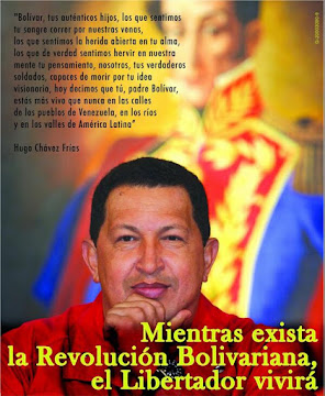 CHAVEZ NO SE MURI, CHAVEZ NO SE MURI, CHAVEZ VIVE EN EL PUEBLO LA PUTA MADRE QUE LO PARIO 