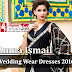 Amna Ismail Wedding Wear Dresses 2016-2017 | Linen Winter Collection