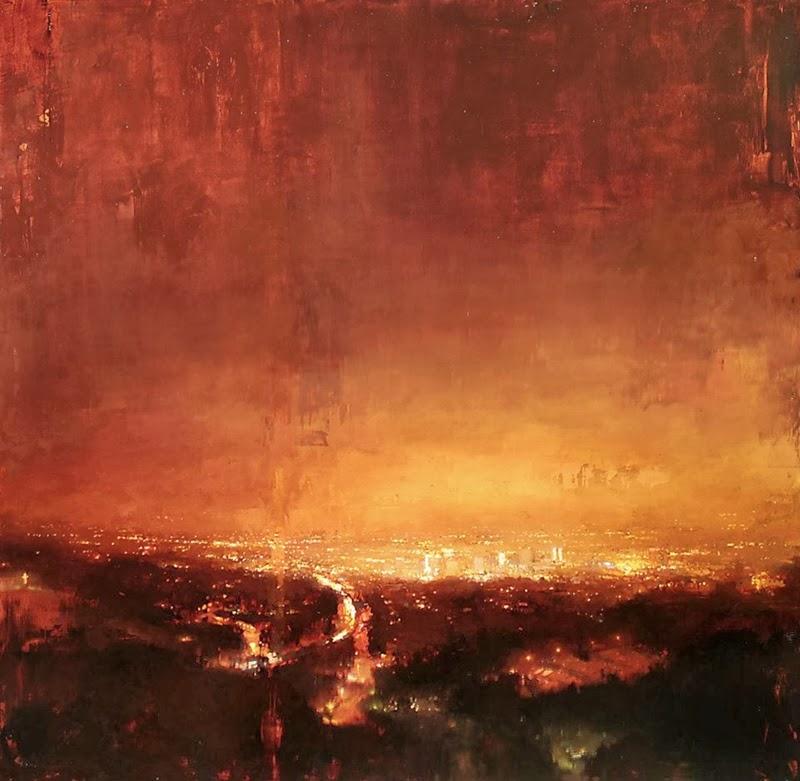 Jeremy Mann Jeremy+Mann+1979+-+American+Impressionist+painter+-Maher+Art+Gallery1