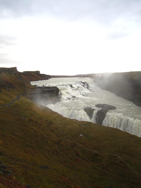 Gullfoss in Iceland.