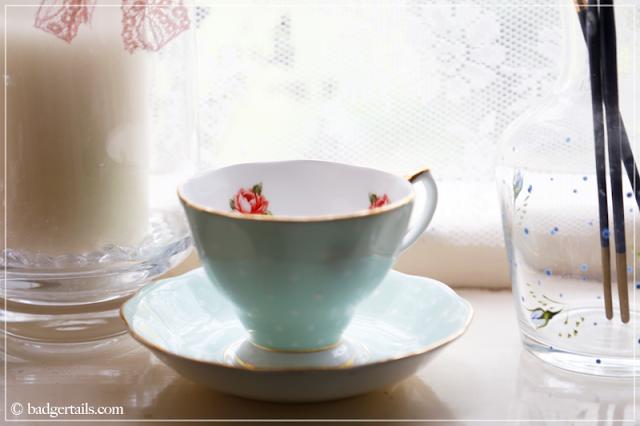 Royal Doulton Tea Cup in Windowsill