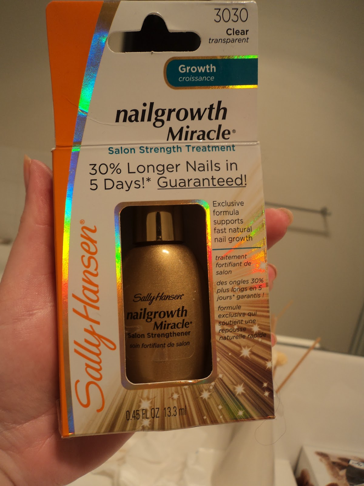 Naked Nails 7 Day Challenge - Sally Hansen | Sweetaholic Beauty
