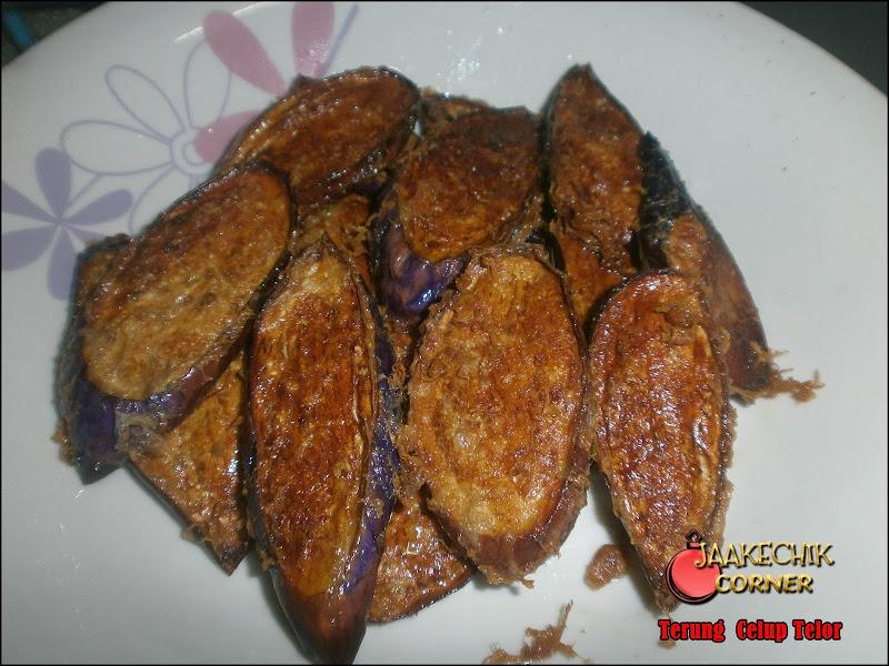 resepi, brinjal goreng telor, terung goreng telor, cara nak masak terung panjang, buah terung celup tepung, terung, my resepi,