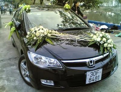 Cho thuê xe cưới Honda Civic giá rẻ