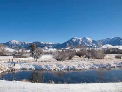 Absaroka Mountains, Montana, PhD pool, DePuy spring creek