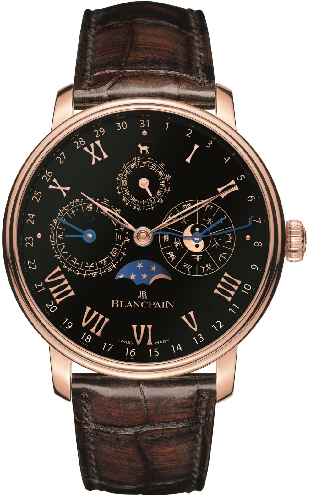 Blancpain - Traditional Chinese Calendar for ONLY WATCH 2015