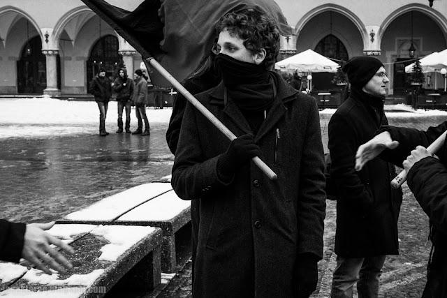 Anarchiści, Kraków przeciwko inwigilacji