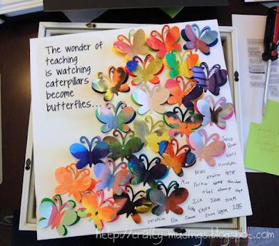butterfly art, unframed