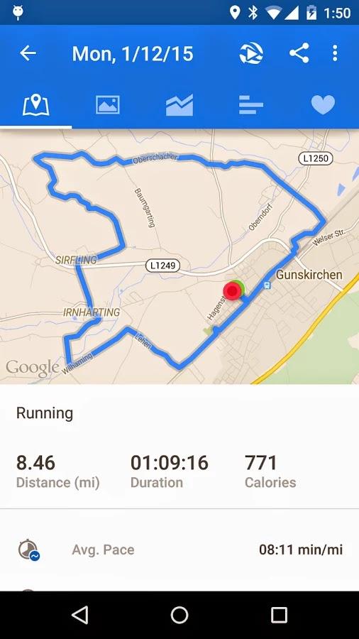 Runtastic Running PRO v6.1