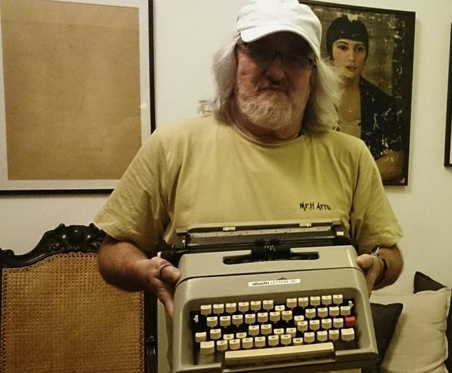 Máquina de escrever de Sandro Moreyra