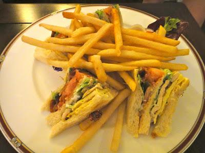 Club Sandwich Aston Tanjong Benoa Room Service Bali