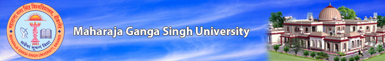 mgsubikaner.ac.in Time Table 2013 Exam - Maharaja Ganga Singh University