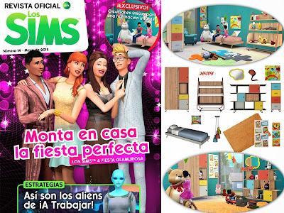 28-05-2015 Revista Oficial Sims 4  nº14