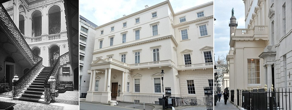 250million home london house set to become uk 39 s most for 17 carlton house terrace london
