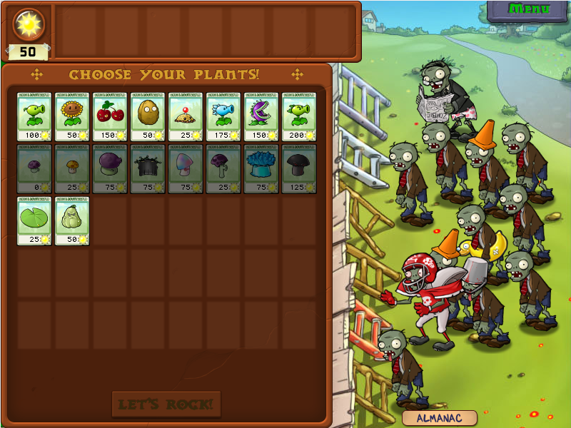 Plant Vs Zombies Full Version PC