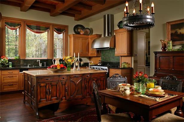 Preppy Empty Nester: Celebrity Kitchens