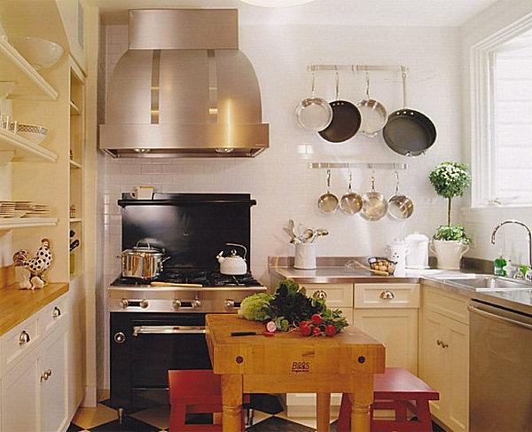 muebles de cocina pequeña fotos - Fotos de modelos de cocinas rústicas, americanas y Casas