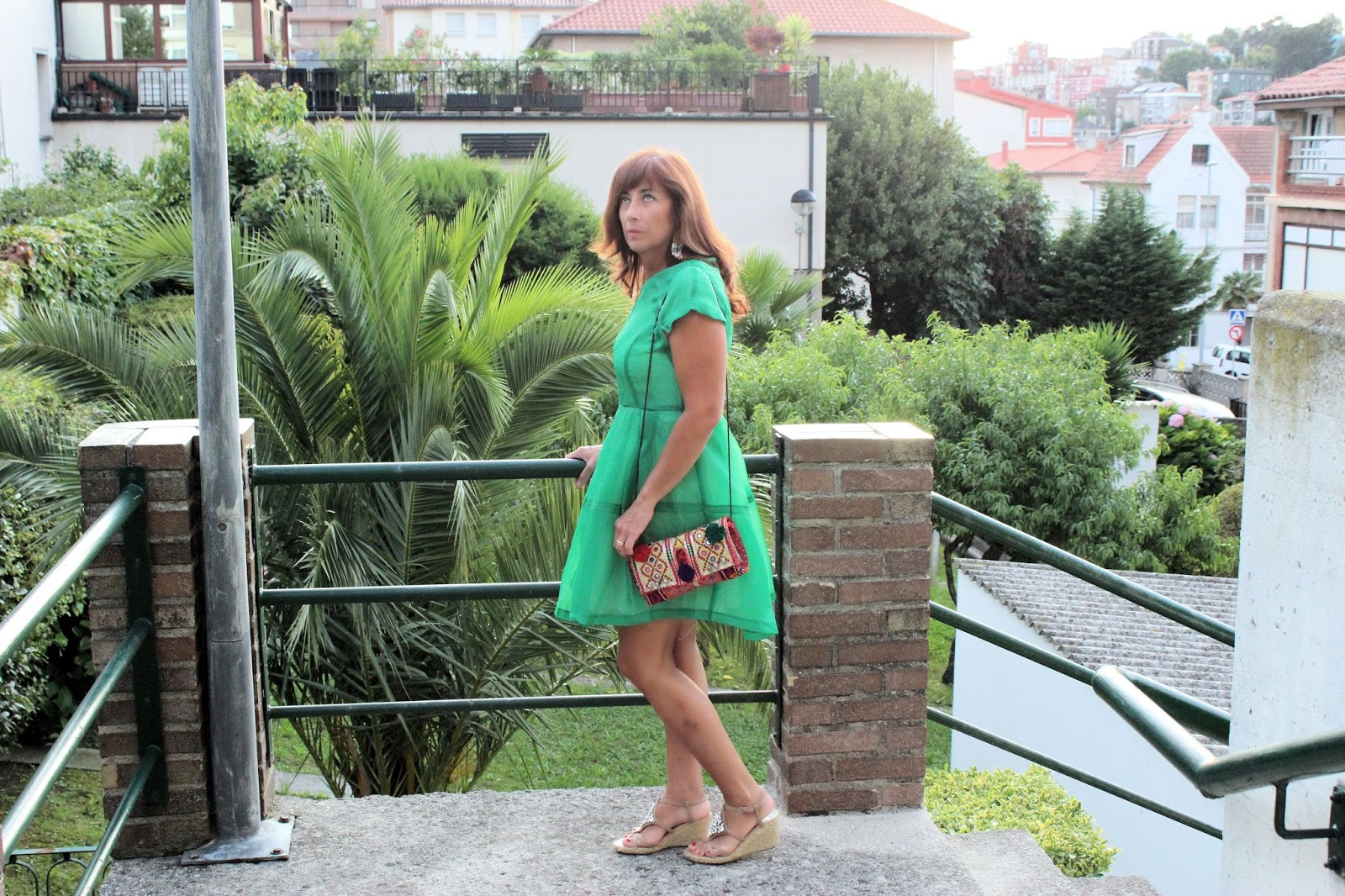 Br jula de estilo mis looks vestido verde teria yabar - Brujula de estilo ...