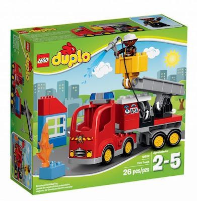 TOYS : JUGUETES - LEGO Duplo  10592 Camión de Bomberos | Fire Truck  Producto Oficial 2015 | Piezas: 26 | Edad: 2-5 años  Comprar en Amazon