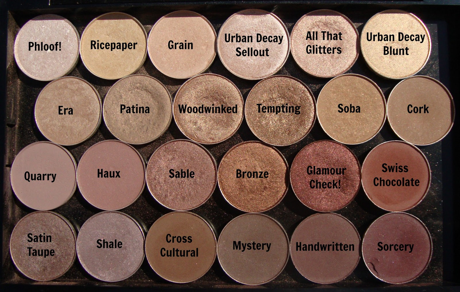 1000  ideas about Mac Eyeshadow Swatches on Pinterest | Mac ...