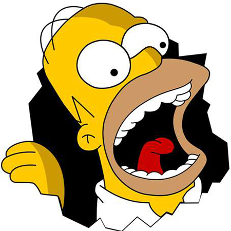 Hungry Homer Simpson icon