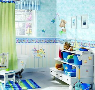 baños para niños