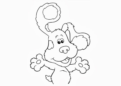 Blue's Clues Coloring Pages