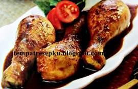 Resep ayam bakar semur