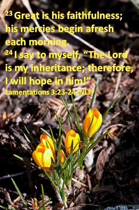 Lamentations 3:23-24
