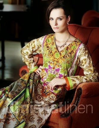 Latest Nishat Summer Dresses 2014
