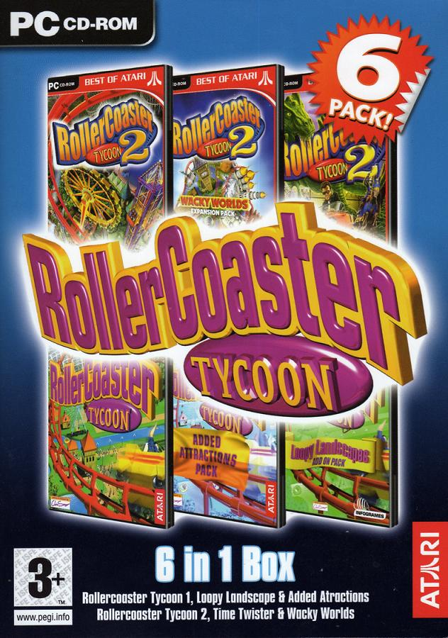 roller coaster tycoon 3 free  game