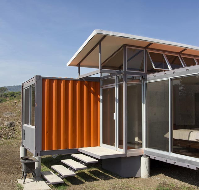 Shipping Container Homes October 2011
