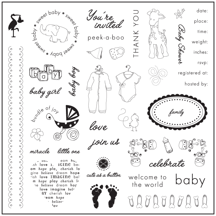 baby showers welcome baby pages and cards scrapbooking and gift