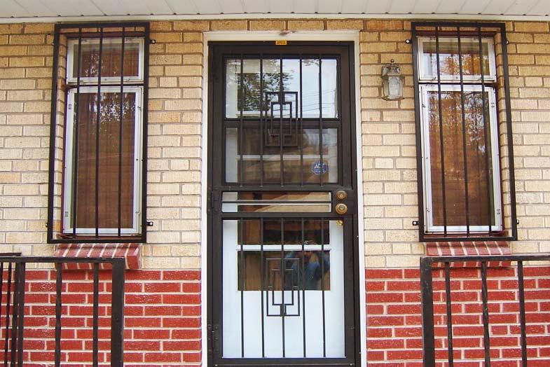 Security Storm Doors : Type of storm or security door
