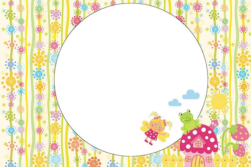 moldura para fotos tema jardim encantado : moldura para fotos tema jardim encantado:Garden Fairy Invitations Free