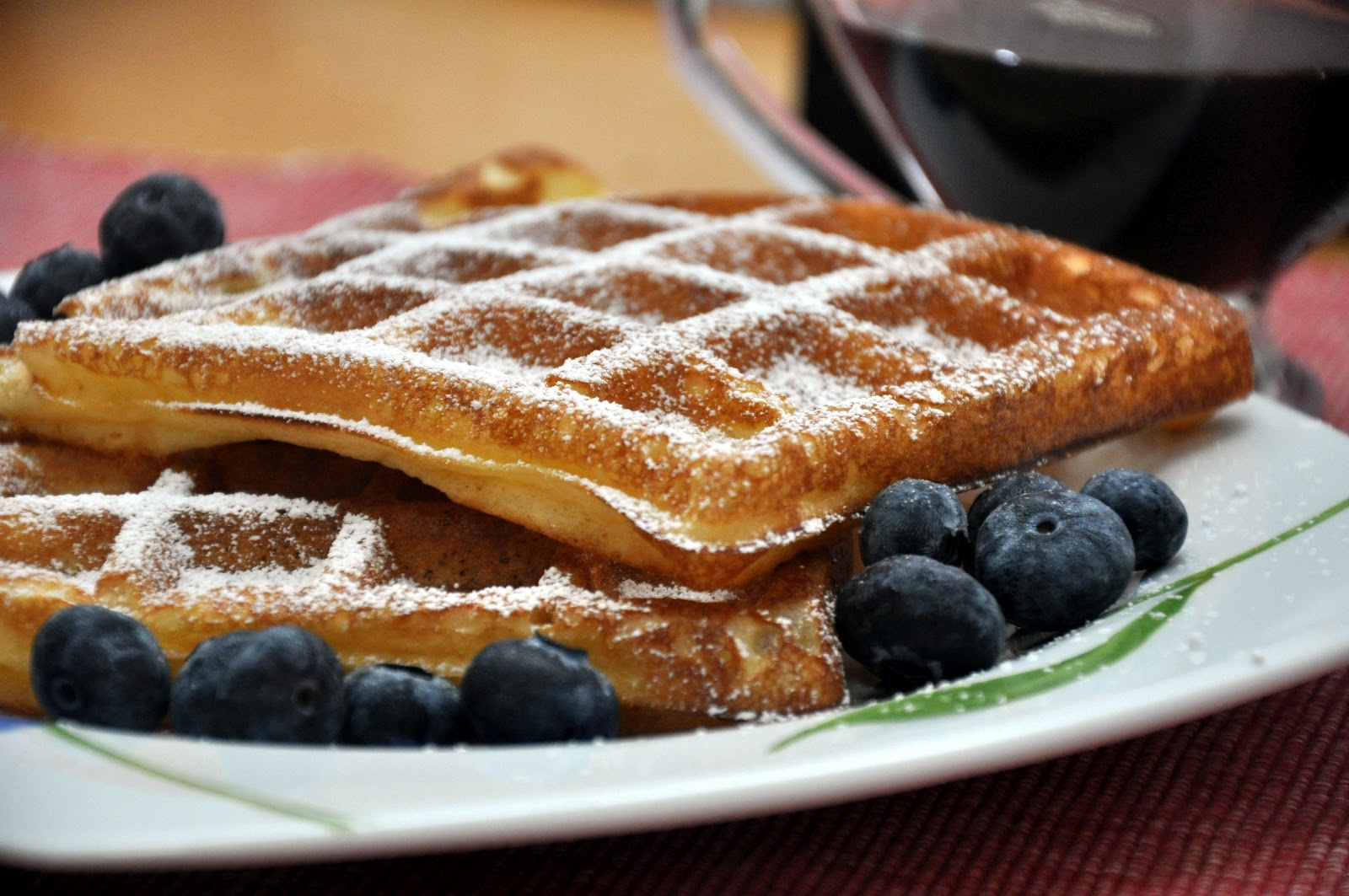 Waffles - Light & Crispy to the last bite! | Jyotsna's World