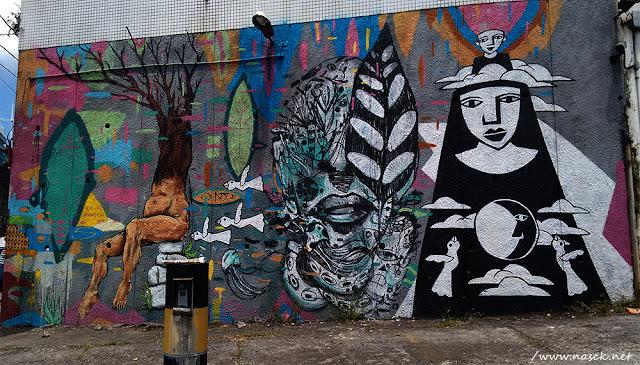 Grafite fotografado por Nasck na 7 Portas Salvador Bahia