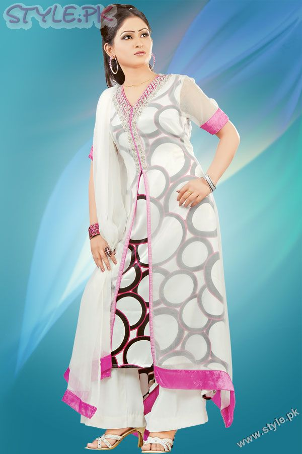 Long Shirts Fashion In Pakistan http://bombybo.blogspot.com/2012/02/fancy-salwar-kameez-designs-2012.html