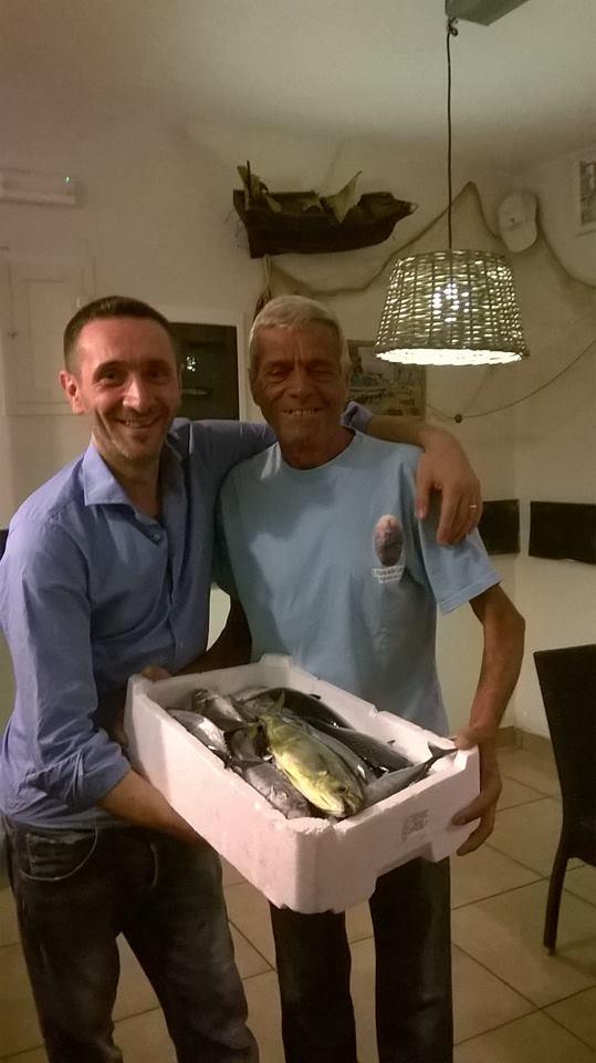 Rosario e Ciacione il pescatore!