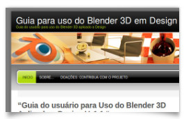 Guia para uso do blender 3d aplicado a design