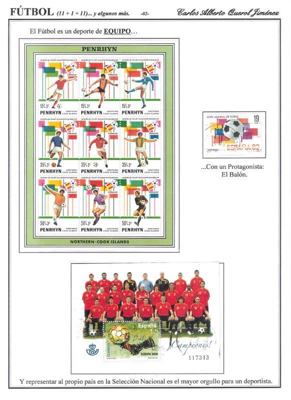 Colección filatélica de futbol de Carlos Querol