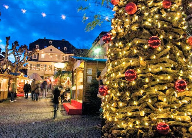 The Christmas market in Rüdesheim, Germany. Photo: Archers Tours UK.