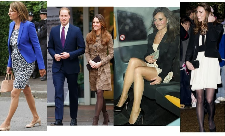 Pippa Middleton tights