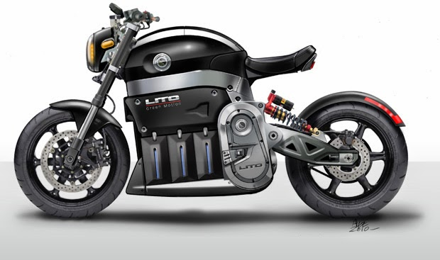 Motocicleta eléctrica Sora 2014