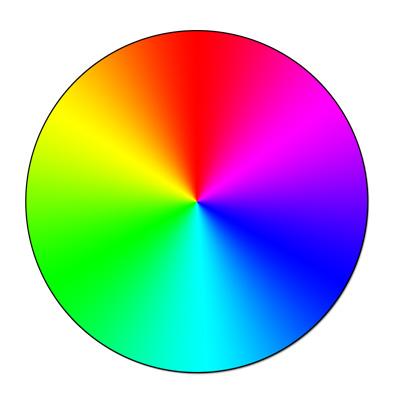 Этот круг называют цветовой