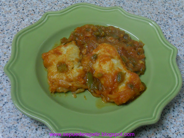 Se puede repetir bacalao con fritada de tomate - Cocinar bacalao congelado ...