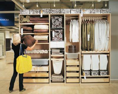 Ikea garderobeskap pax